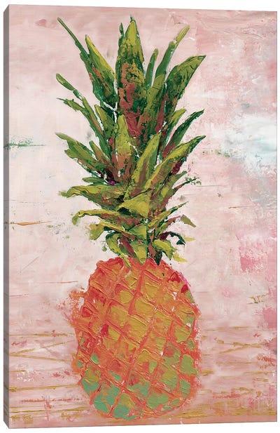 Painted Pineapple II Canvas Art Print