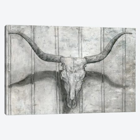 Longhorn Canvas Print #MEC73} by Marie Elaine Cusson Canvas Artwork