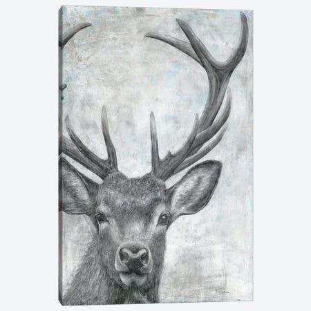 Portrait of a Deer Canvas Print #MEC74} by Marie Elaine Cusson Art Print
