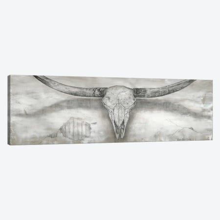 Longhorn II Canvas Print #MEC78} by Marie Elaine Cusson Canvas Wall Art