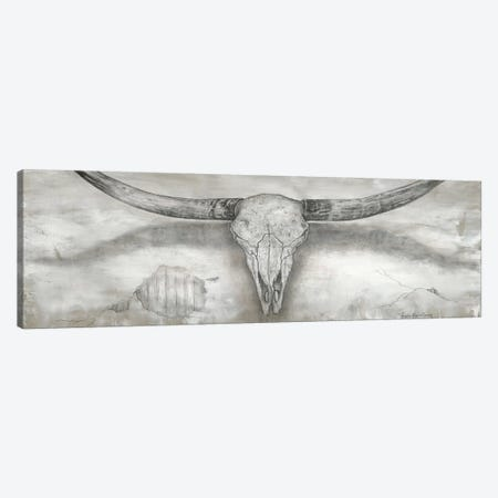 Longhorn II 3-Piece Canvas #MEC78} by Marie Elaine Cusson Canvas Wall Art