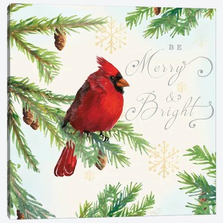 Christmas Blessings I Canvas Print #MEC92} by Marie Elaine Cusson Canvas Artwork
