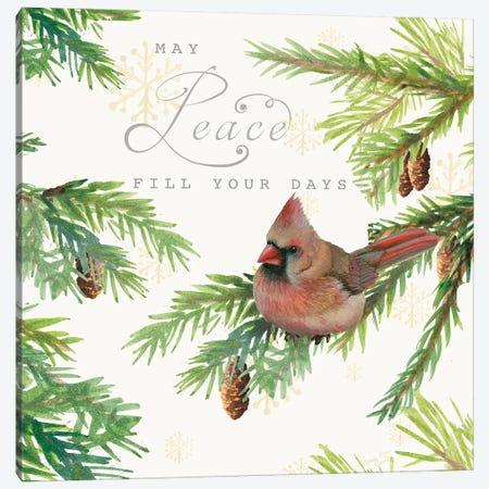 Christmas Blessings II Canvas Print #MEC93} by Marie Elaine Cusson Canvas Art