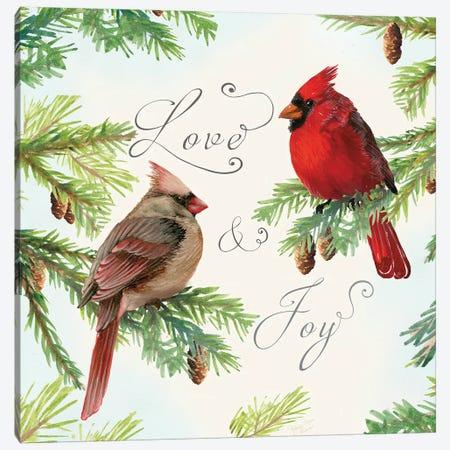 Christmas Blessings III Canvas Print #MEC94} by Marie Elaine Cusson Canvas Art Print