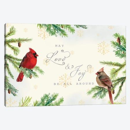 Christmas Blessings landscape Canvas Print #MEC95} by Marie Elaine Cusson Art Print