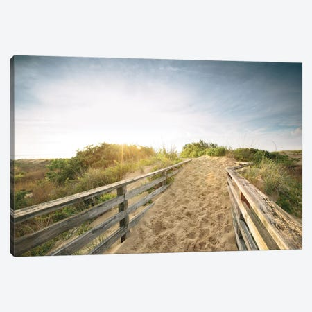 First Landing Dunes III Canvas Print #MED3} by Adam Mead Canvas Art Print