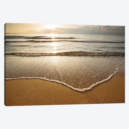 First Landing Sea I 3-Piece Canvas #MED6} by Adam Mead Canvas Artwork