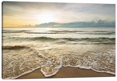 First Landing Sea II Canvas Art Print