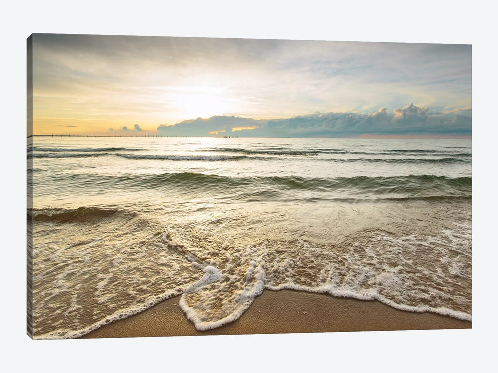 First Landing Sea II by Adam Mead 1-piece Canvas Art Print