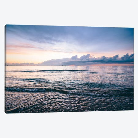 First Landing Sea IV Canvas Print #MED9} by Adam Mead Canvas Art Print