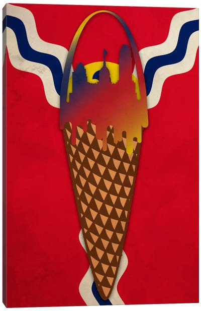 Ice Cream Arch Canvas Art Print