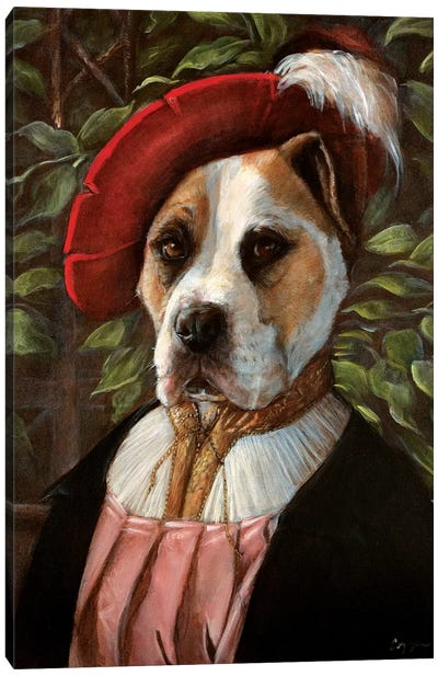 Buddy Canvas Art Print