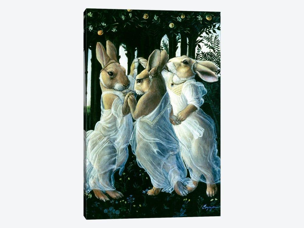 Bunny Graces by Melinda Copper 1-piece Canvas Print