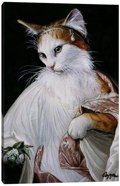 Catnip Bearer Canvas Art Print