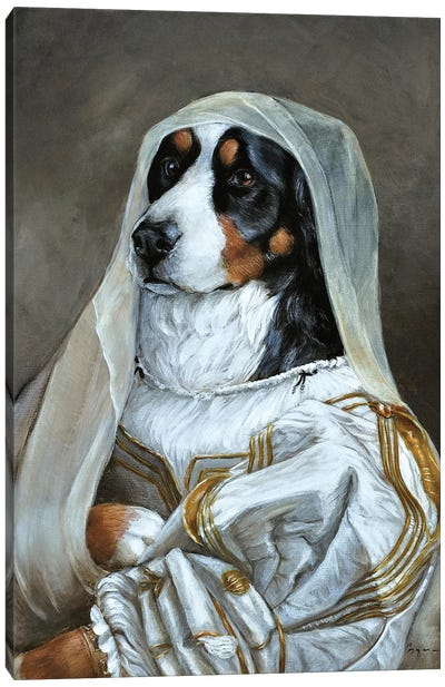 Abby Canvas Art Print