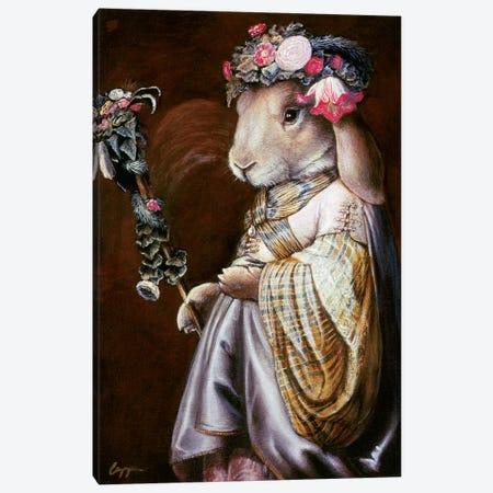 Floral Op Canvas Print #MEN25} by Melinda Copper Canvas Print