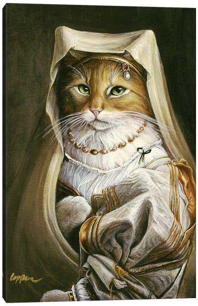 Goldie Canvas Art Print
