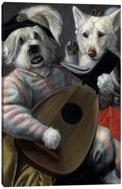 Bilbo Taffie Canvas Art Print