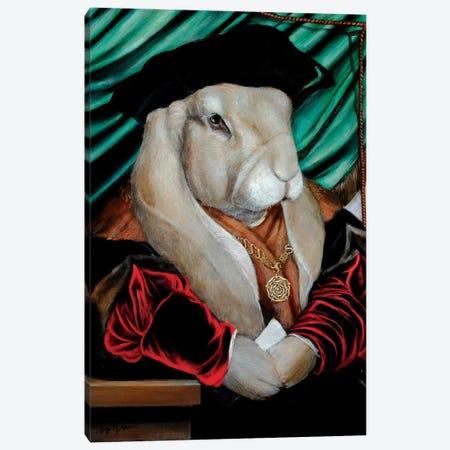 Maru Canvas Print #MEN42} by Melinda Copper Canvas Artwork
