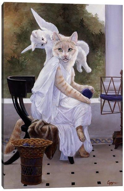 Mewsings Canvas Art Print