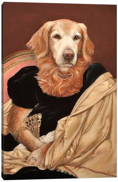 Miss Sydney Canvas Art Print