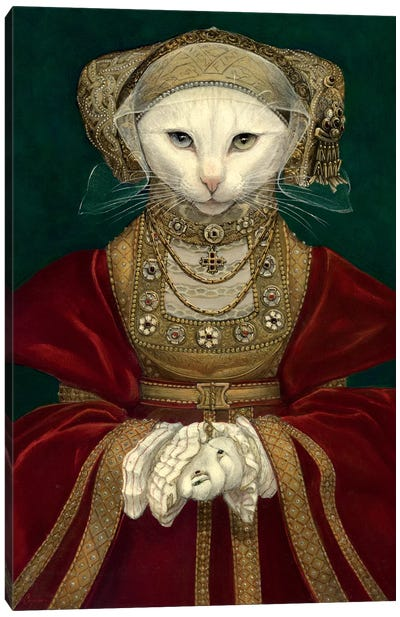 Mouse Of Cleves by Melinda Copper Canvas Art Print