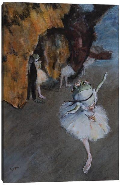 Frog Star Canvas Art Print