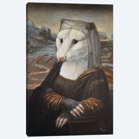 Mona Possum Canvas Print #MEN72} by Melinda Copper Canvas Print