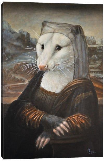 Mona Possum Canvas Art Print