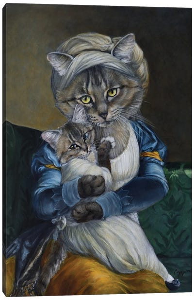 Marianna Canvas Art Print