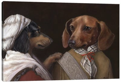 Hansel And Gretel Canvas Art Print