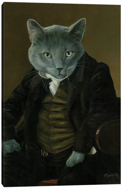 Oskar Canvas Art Print