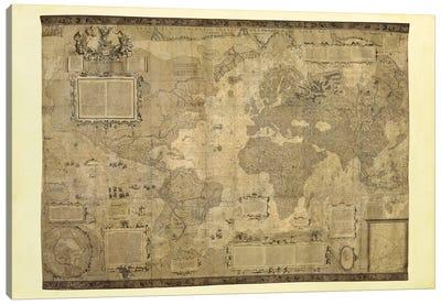 Orbis Terrae Descriptio Canvas Art Print