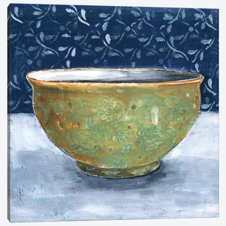 Golden Bowl Canvas Print #MET15} by Miri Eshet Canvas Wall Art