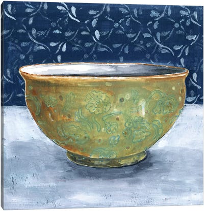 Golden Bowl Canvas Art Print