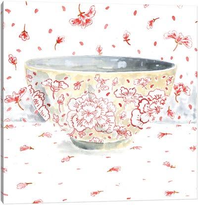 Pink Bowl Canvas Art Print