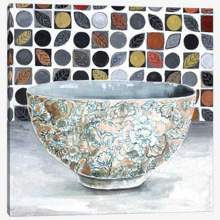 Rice Bowl Canvas Print #MET31} by Miri Eshet Canvas Print