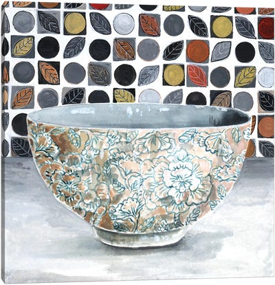 Rice Bowl Canvas Art Print
