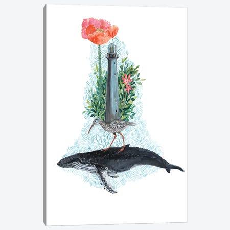 Humpback Whale Dreams Canvas Print #MET38} by Miri Eshet Canvas Art Print