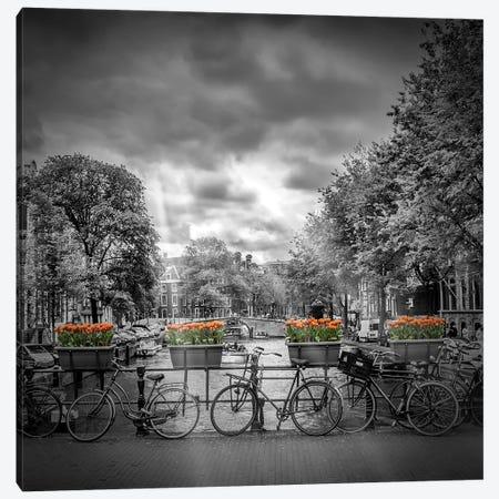 Typical Amsterdam Canvas Print #MEV109} by Melanie Viola Canvas Print