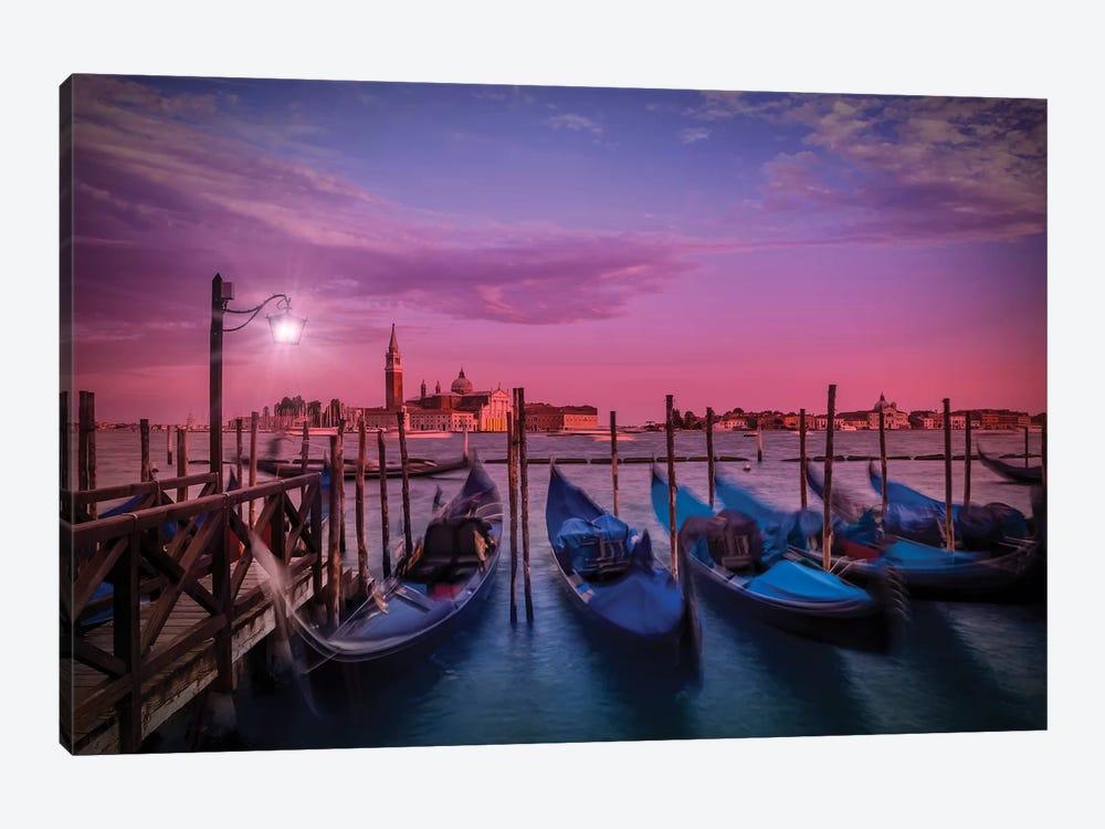 Venice Gorgeous Sunset by Melanie Viola 1-piece Canvas Art