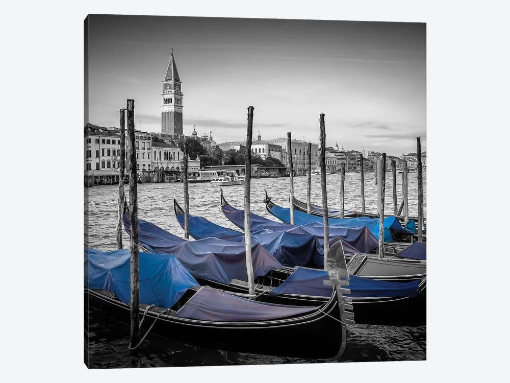 Venice Grand Canal And St Mark's Campanile by Melanie Viola 1-piece Canvas Art Print