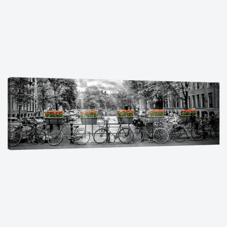 Amsterdam Gentlemen's Canal Canvas Print #MEV119} by Melanie Viola Canvas Art