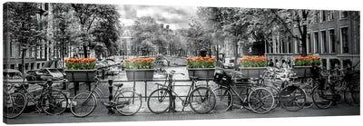 Amsterdam Gentlemen's Canal Canvas Art Print