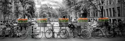BLACK /& WHITE ART WALL DECOR Pictures Canvas choose your size amsterdam