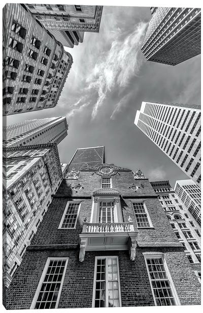 Boston Old State House Canvas Art Print