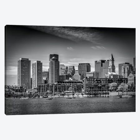 Boston Skyline North End & Financial District Canvas Print #MEV127} by Melanie Viola Canvas Artwork