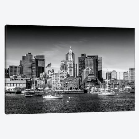 Boston Skyline North End & Financial District Canvas Print #MEV128} by Melanie Viola Art Print