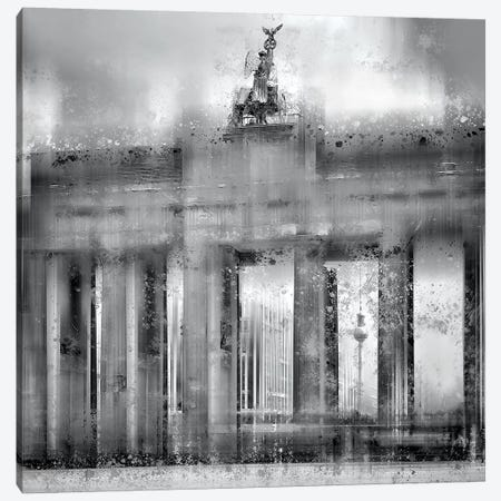 Berlin Brandenburg Gate Canvas Print #MEV132} by Melanie Viola Canvas Art