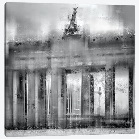 Berlin Brandenburg Gate Canvas Print #MEV132} by Melanie Viola Canvas Art